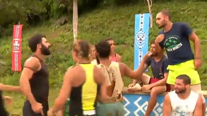 Batuhan'ın sözleri ortalığı karıştırdı! Survivor'da iki takım arasında büyük gerginlik