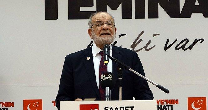 FOTO:İHA-Arşiv - Saadet Lideri Temel Karamollaoğlu, AKP'nin ittifa önerisi için