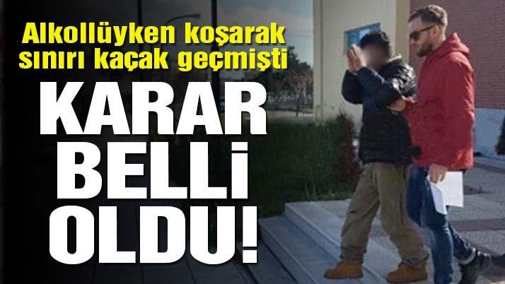 Sınırı koşarak geçen Türk, Yunanistan'da tutuklandı