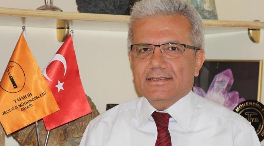 Jeoloji Mühendisleri Odaso (JMO) Adana Şube Başkanı Dr. Mehmet Tatar