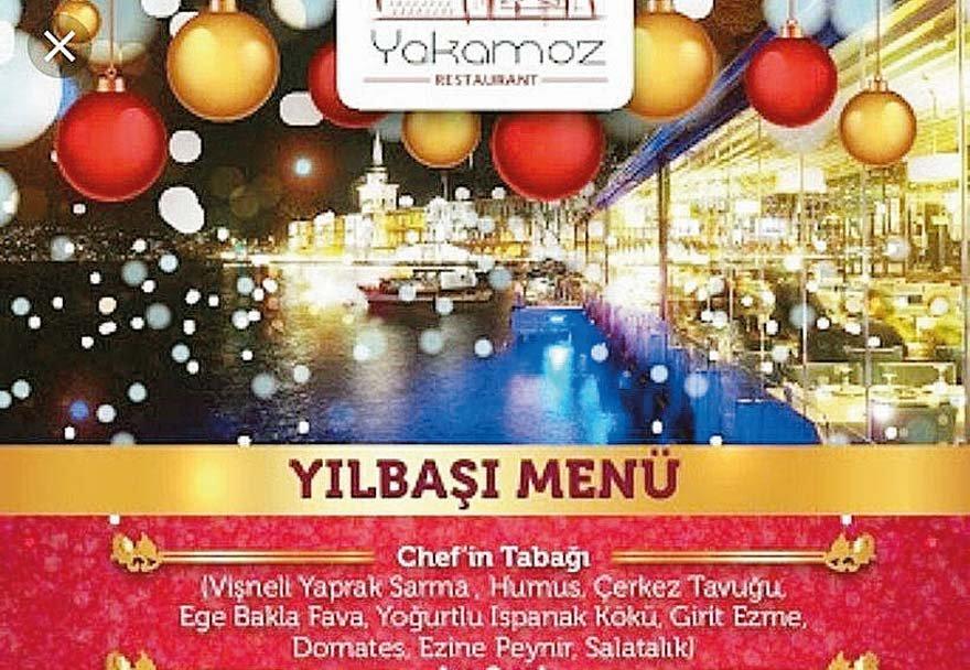 Yılbaşı kutlaması yapılmış Mülkiyeti Kadir Mısıroğlu'na ait İstanbul Çengelköy'deki Yakomoz Restoran, muhafazakar camianın mekanlarından biri olarak biliniyor. Restoran, 2016'da, adam başı 100 lira karşılığında müşterilerine DJ eşliğinde eğlence ve yılbaşı çekilişi vaat etmiş.