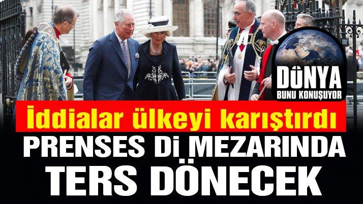 Bu iddia ortalığı karıştıracak: Prenses Diana mezarında ters dönecek