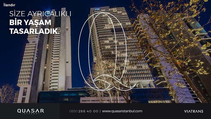 Quasar İstanbul Manşet Adv 20 Mart'18