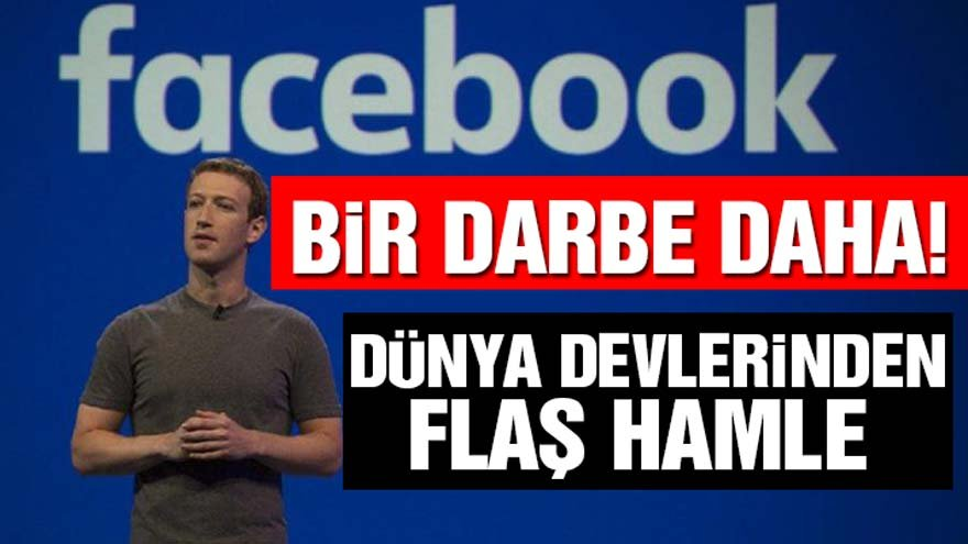 Facebook'a bir darbe daha!