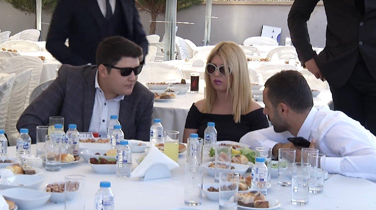 Lüleburgaz'da şehidin isminin alet edildiği törene Mehmet Aydın ve eşi Sıla da katılmıştı.
