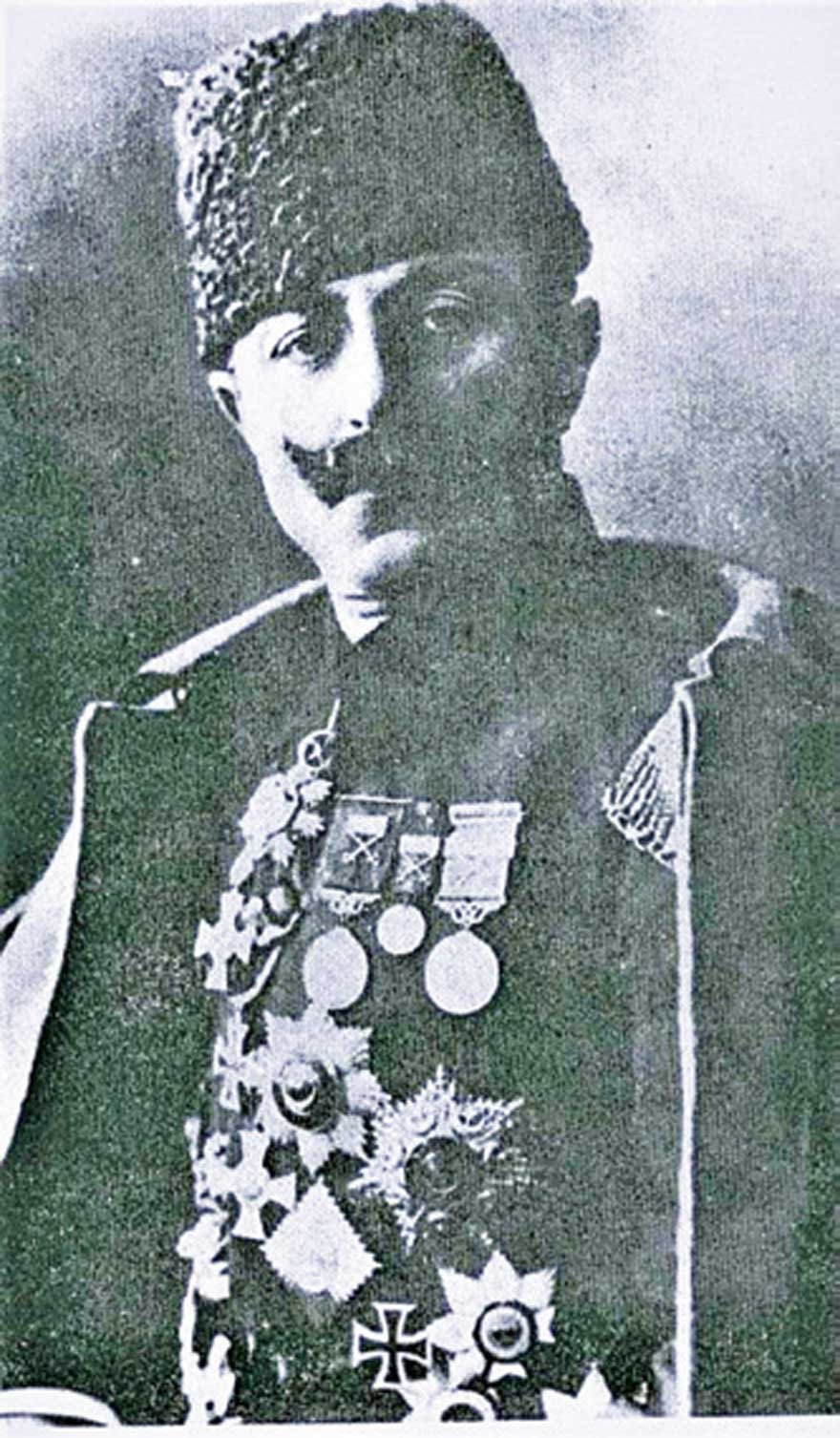Çanakkale Deniz Zaferi Kahramanı Cevat Çobanlı Paşa.