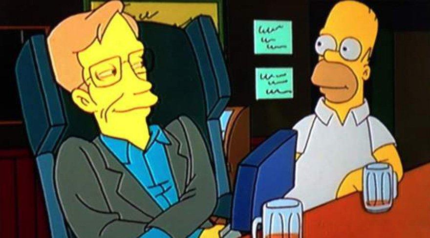 """Stephen Hawkings bir röportajında """"İnsanlığın Dünyaya Terk Etmesi"""" gerek diyerek büyük bir tehlikeye karşı uyarmış (Başak) diğer yandan yaptığı çalışmalarla tanrının zihnini anlamaya çalışması (Balık/Başak) The Simpsons çizgi filminde Homer karakteriyle yan yana resmedilmiş (Balık) BBC'nin komedi dizisi Red Dwarf'ta kendini oynamış (Balık) Uzay Yolu II: Yeni Nesil (Star Trek: New Generation) filminde hologramı yer almıştı (Balık), Pink Floyd rock grubu da 1994 tarihli The Division Bell adlı albümlerindeki Keep Talking şarkılarında Hawking'in mekanik sesini kullandı. (Balık)"""