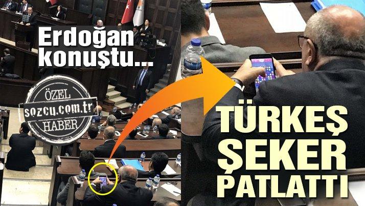 Erdoğan konuştu, Türkeş şeker patlattı…