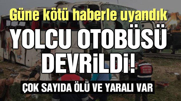 Son Dakika… Ankara-Aksaray otoyolunda otobüs kaza yaptı… Ölü ve yaralılar var