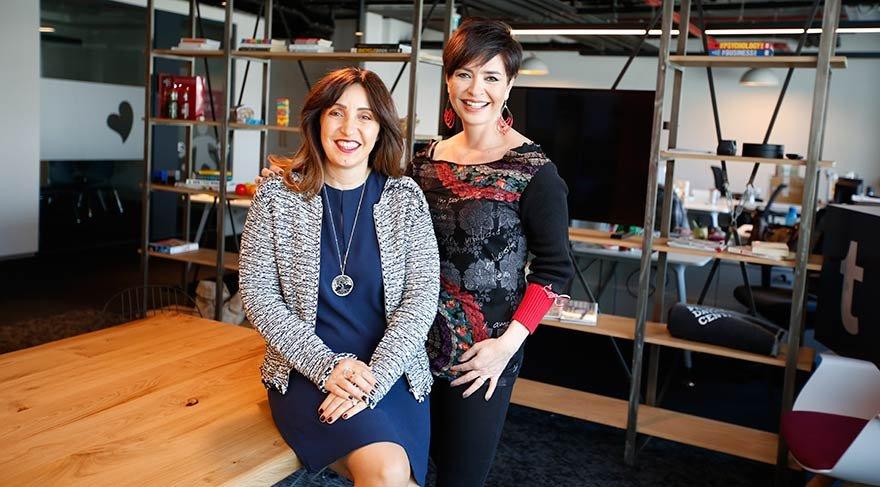 Özlem Gürses Unilever Ev ve Kişisel Bakım Ürünlerinden Sorumlu Başkan Yardımcısı Kamuran Uçar (solda) ile görüştü.