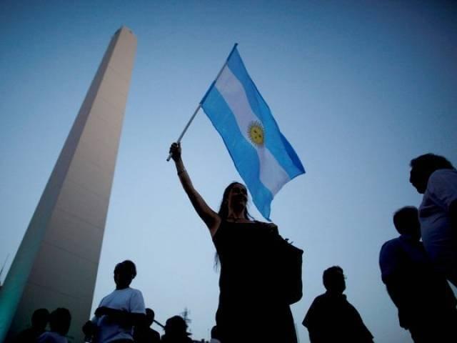 Arjantin'de halk ekonomik gidişi protesto ediyor. Fotoğraf: Reuters