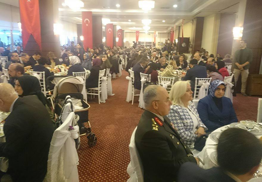 Şehit aileleri Gaziler ve yakınları için yemek programı