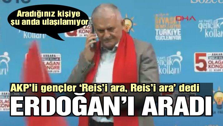 Başbakan, Erdoğan'ı aradı