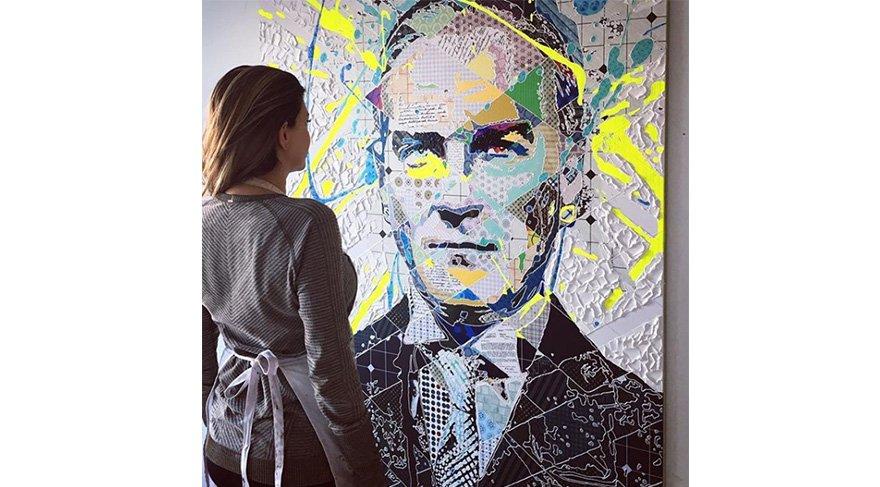 Pınar Dupre - Atatürk tablosu