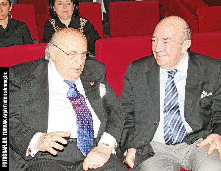 Türker İnanoğlu, 9. Cumhurbaşkanı Süleyman Demirel ile birlikte...