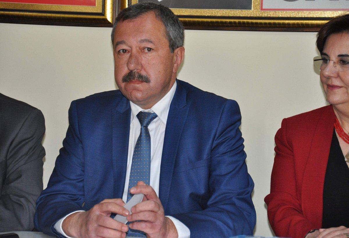 FOTO:İHA/CHP Eskişehir İl Başkanı Sinan Özkar, tepki çeken sözleri savcılığa taşıdı.