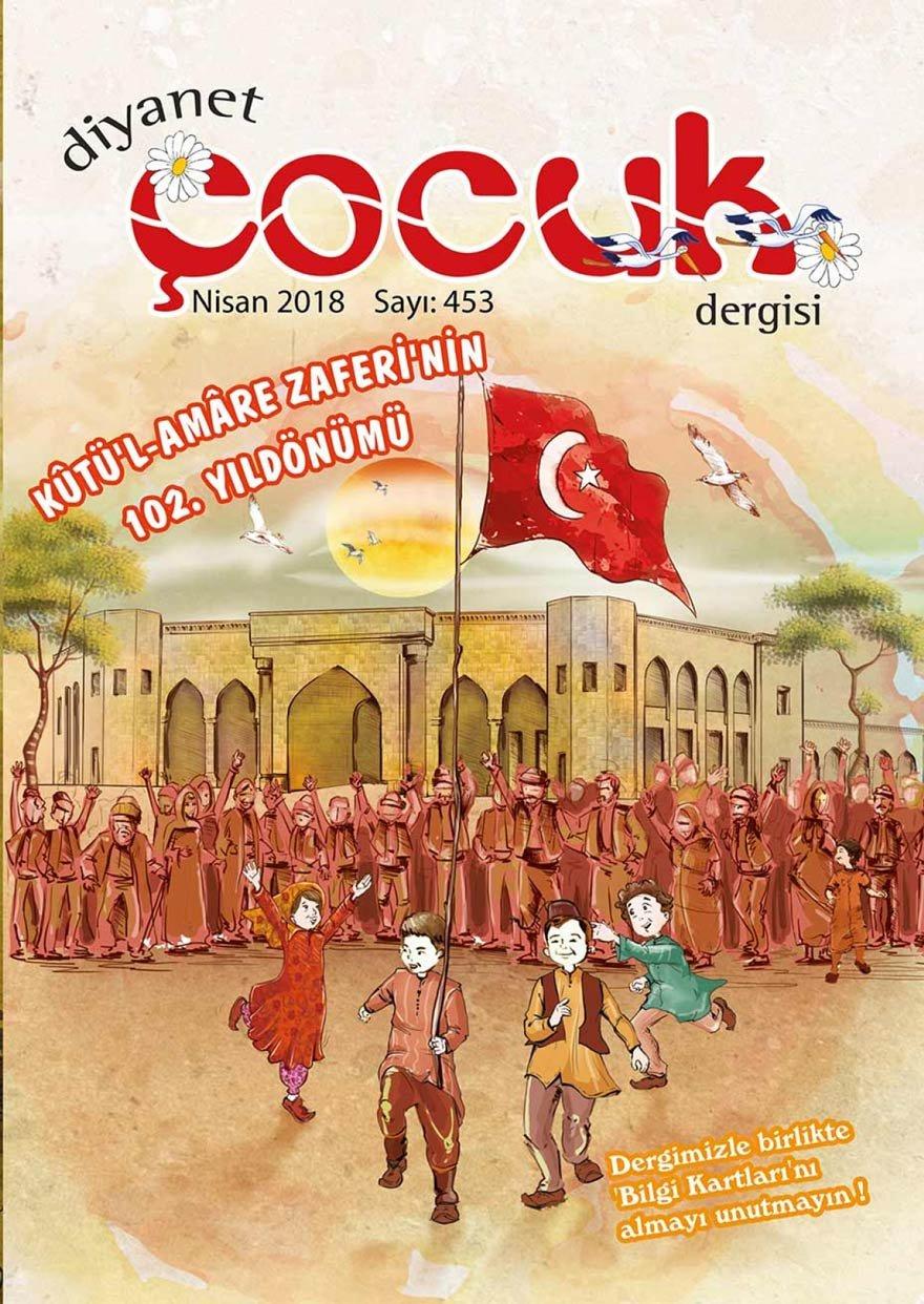 Dergi, Kut'ül-Amare'yi kapağa taşıyıp geniş yer ayırdı.