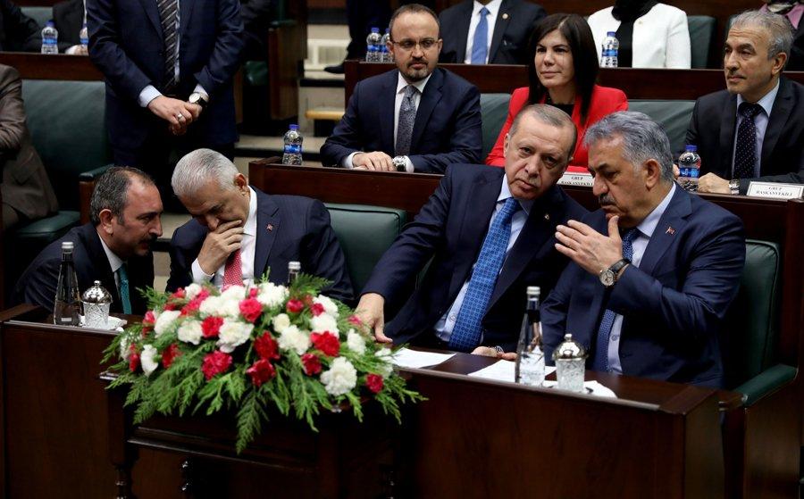 FOTO:SÖZCÜ/ Zekeriya ALBAYRAK/ Bahçeli'nin açıklamaları AKP grubunda böyle tartışıldı.
