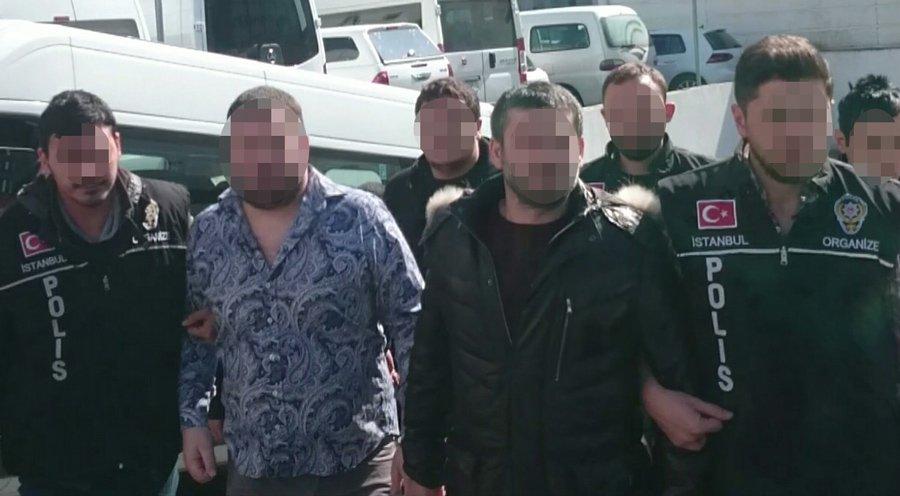 FOTO:SÖZCÜ - Gözaltına alınan şahısların sorgusu sürüyor.