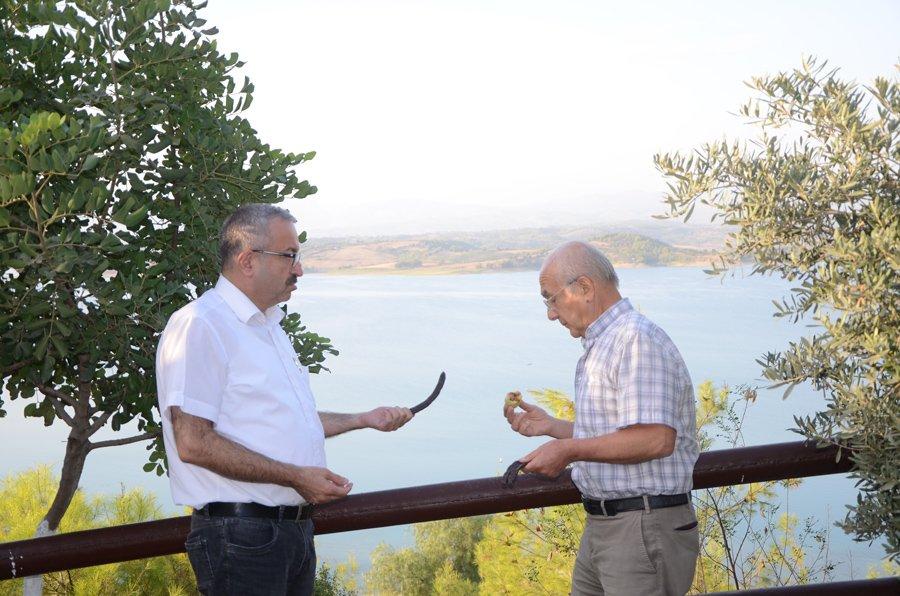 FOTO:SÖZCÜ - Aytaç Durak, (sağda) Sözcü Adana Temsilcisi Mehmet Serbes'in sorularını yanıtladı.