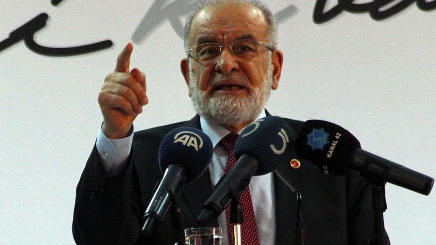 Saadet Partisi Genel Başkanı Temel Karamollaoğlu: 'Bugünkü başkanlık sistemi fayda sağlamaz'