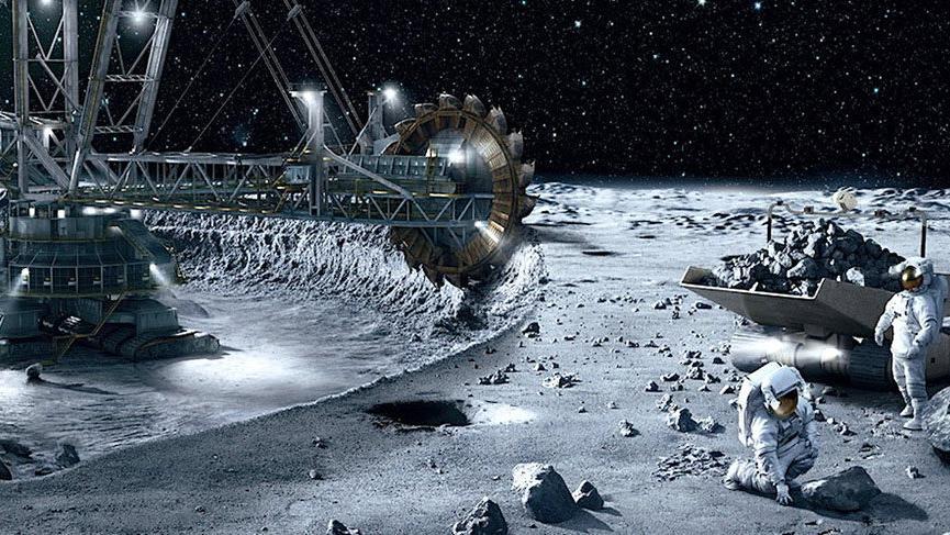 1.1 trilyon dolar uzaya akacak