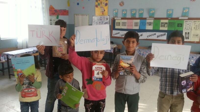 Türk Dermatoloji Derneği'nden çocuklara mektup