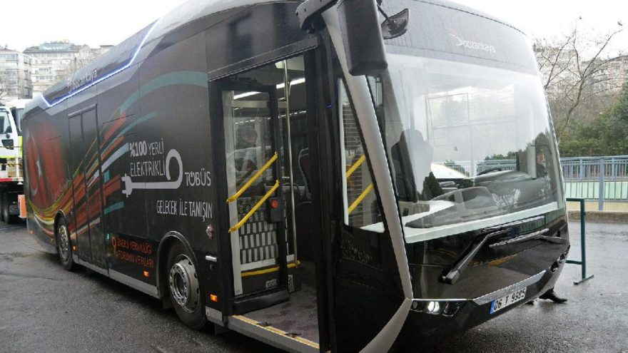 Bozankaya 9. Enerji Verimliliği Forumunda elektrikli otobüsü SILEO'yu sergiledi