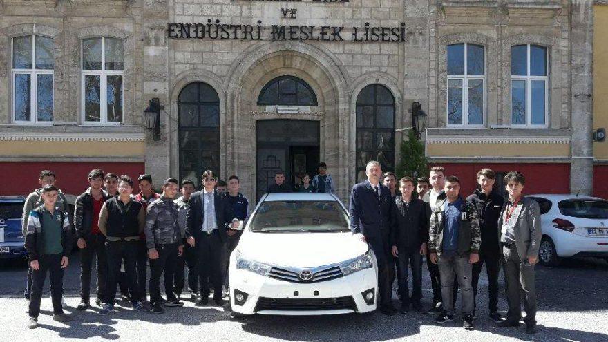 Toyota'dan mesleki eğitime destek devam ediyor!