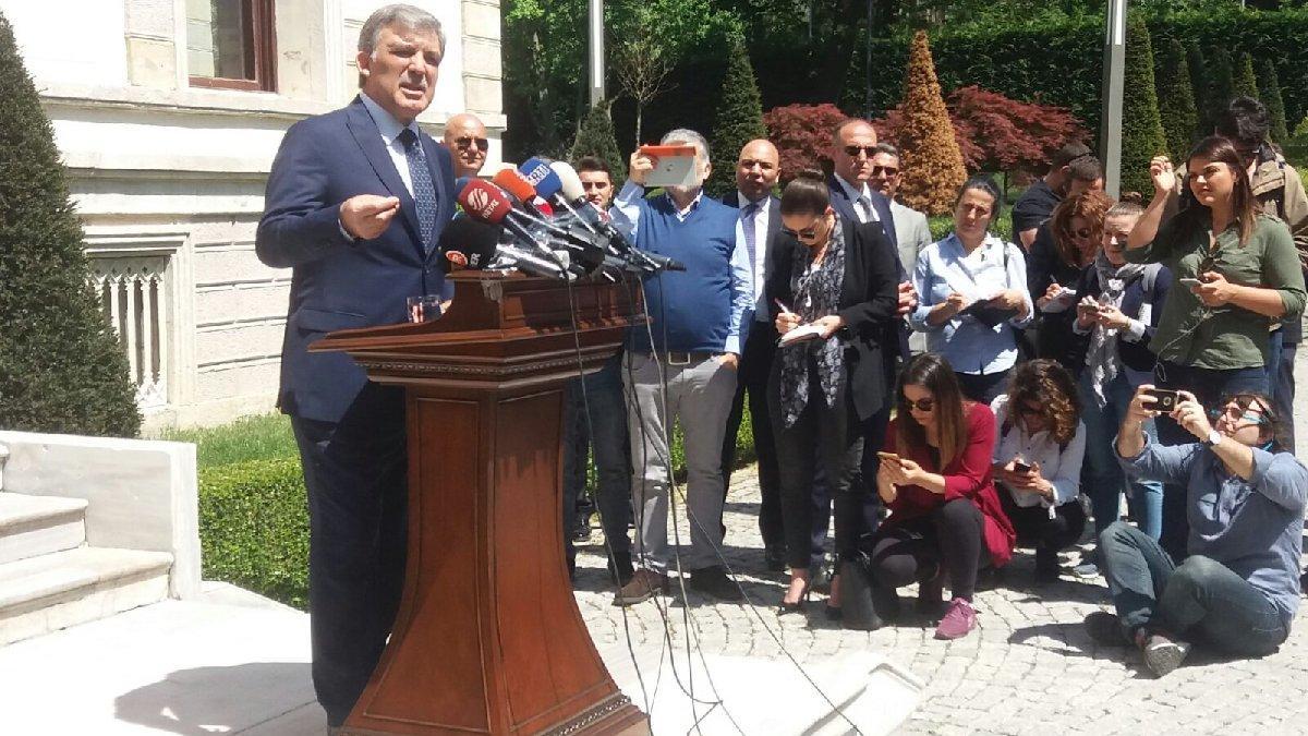 Abdullah Gül'den, Yıldırım'a cevap geldi!