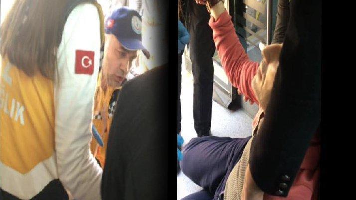 Yolcu rahatsızlanınca halk otobüsü ile hastaneye götürdü