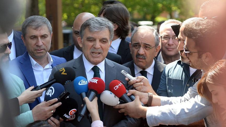 Son dakika: Abdullah Gül'den flaş açıklama! Aday olacak mı?
