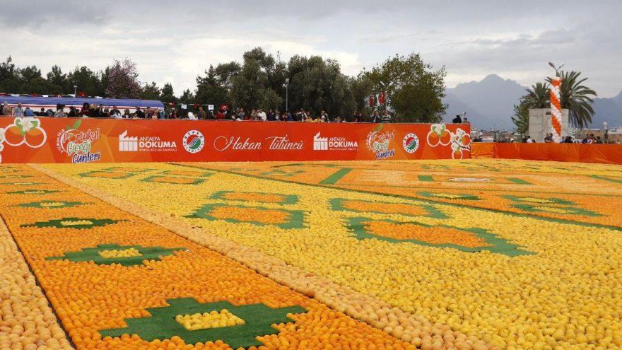 Antalya'da 'Portakal Çiçeği Günleri' başladı