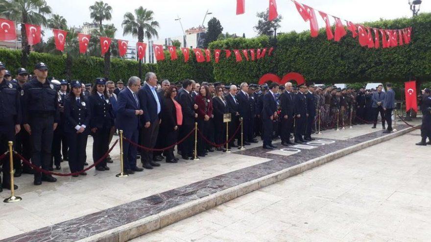Adana'da polis günü kutlaması
