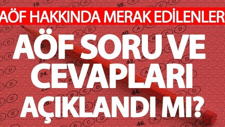 AÖF'de vizeler tamamlandı! AÖF soru ve cevapları yayınlandı mı? Gözler Anadolu Üni'de…