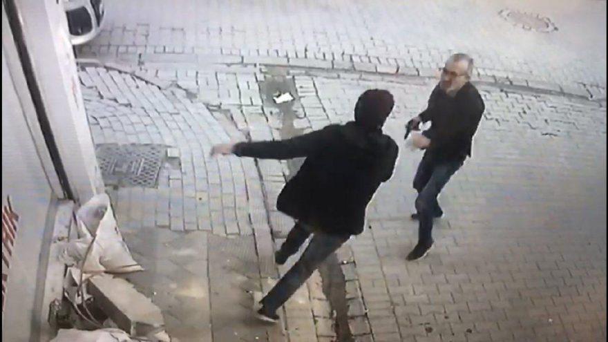 İstanbul'da bir garip olay! Önce tokalaştı, sonra vurdu