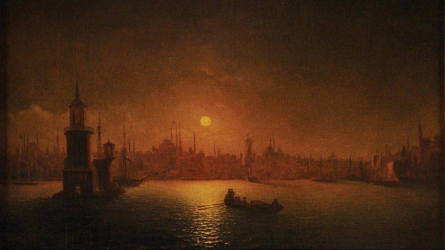 Aivozovsky'nin eseri Ay Işığında İstanbul müzayedede satılacak
