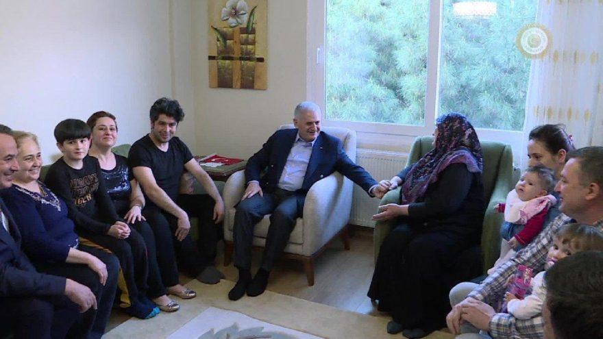 Başbakan'ın ziyaret ettiği CHP'li aile konuştu