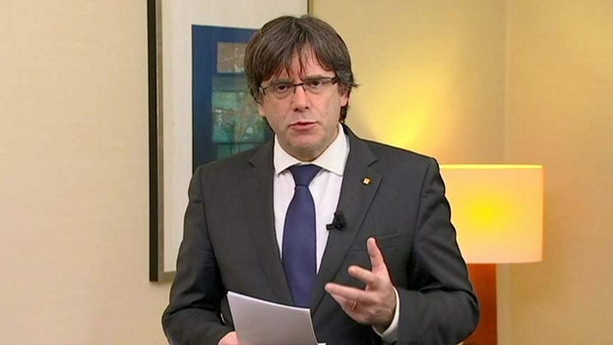 Katalan lider için şartlı tahliye kararı