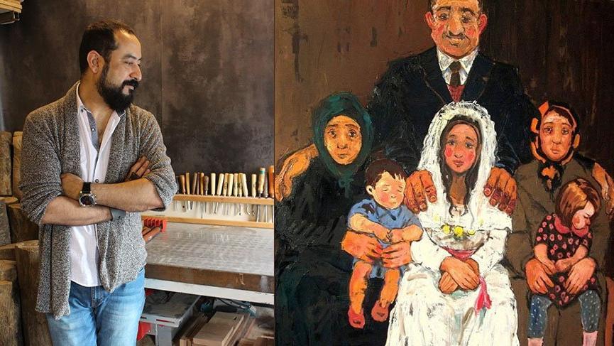 """Ressam Barış Cihanoğlu: """"Çocuk gelinler Türkiye'nin kaderi olmaktan çıkmalı!"""""""