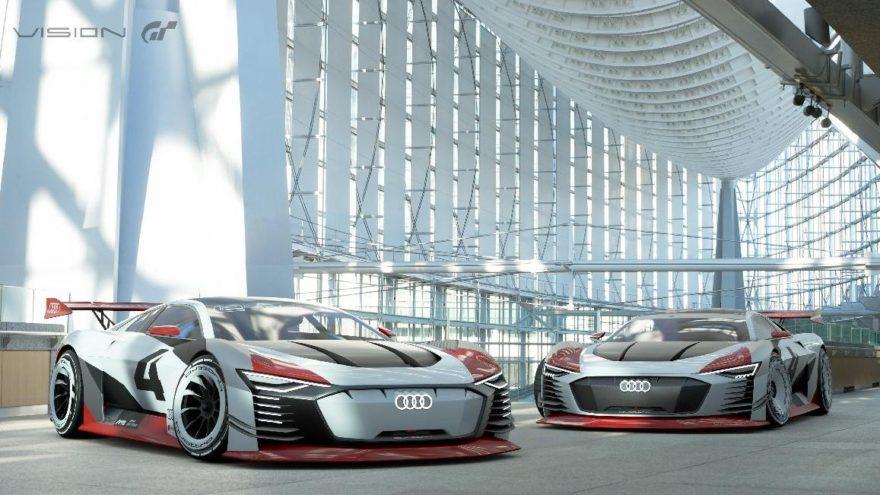 Audi e-tron Vision Gran Turismo'da!