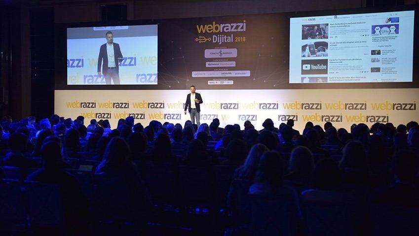 Dijital pazarlamanın geleceği Webrazzi Dijital'de konuşuldu