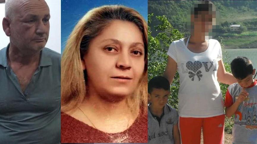 Eşi ve üvey oğullarını öldürüp üvey kızına tecavüz etti