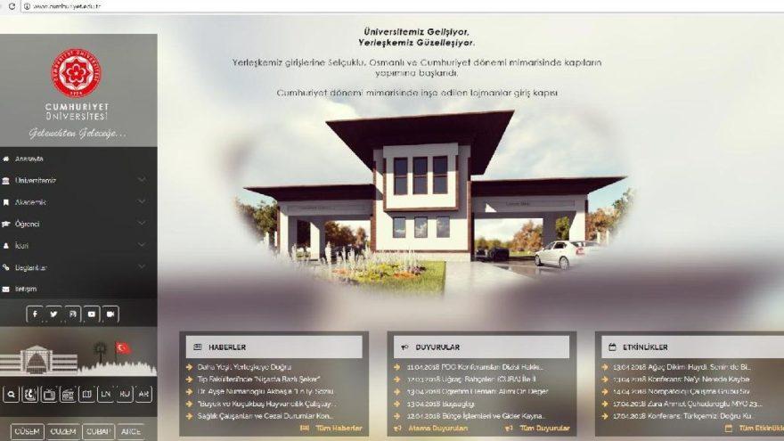 Cumhuriyet Üniversitesi'nde Atatürk'e 'mobil' sansür