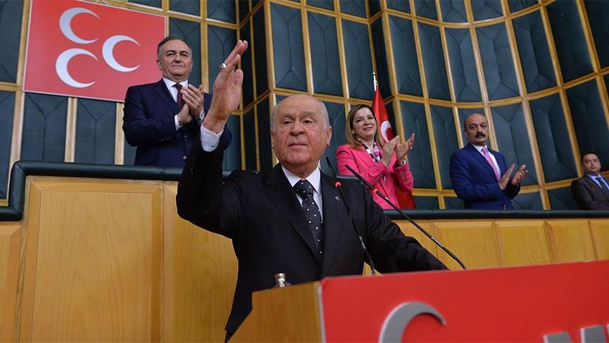 MHP Genel Başkanı Devlet Bahçeli: Ortadoğu kaynıyor, Twitter'dan rest çekiyorlar