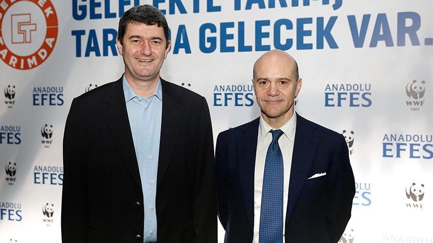 Anadolu Efes ve WWF-Türkiye 'Gelecek Tarım'da diyor