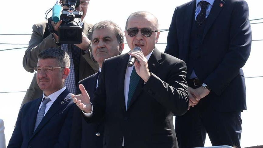 Erdoğan'dan İsrail'e: 'Dünyada dolaşacak gezecek yer bulamazsın, bizimle uğraşma'