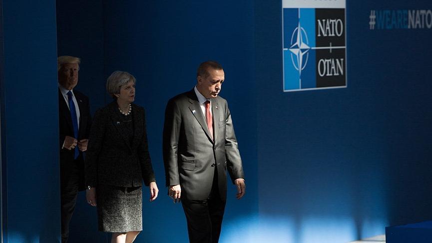 Son Dakika... Cumhurbaşkanı Erdoğan NATO Genel Sekreteri Stoltenberg ile görüştü
