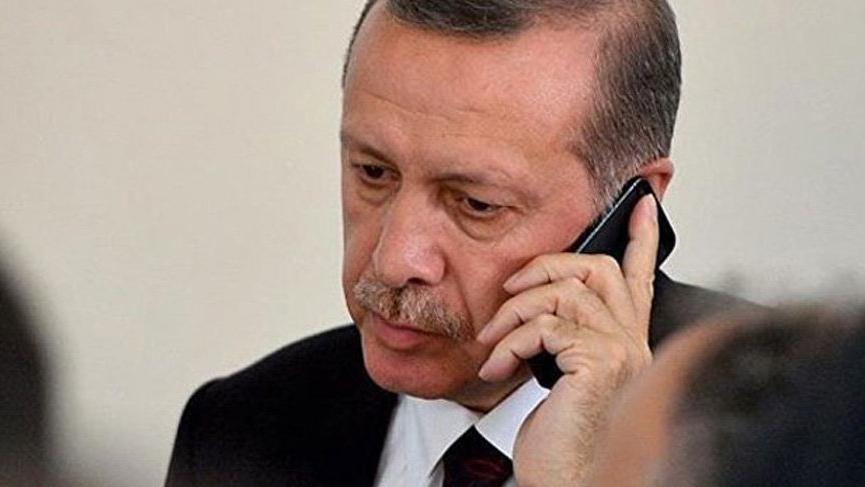 Cumhurbaşkanı Erdoğan Fransız mevkidaşı Macron ile telefon görüşmesi yaptı