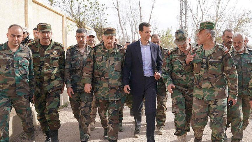 Ve Esad düğmeye bastı! Ordu harekete geçti...